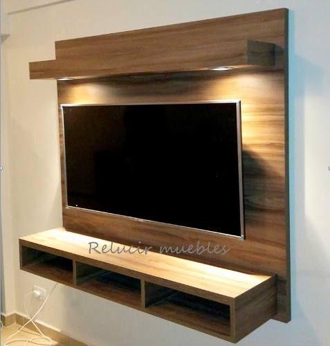 12 Mueble tv flotante madera
