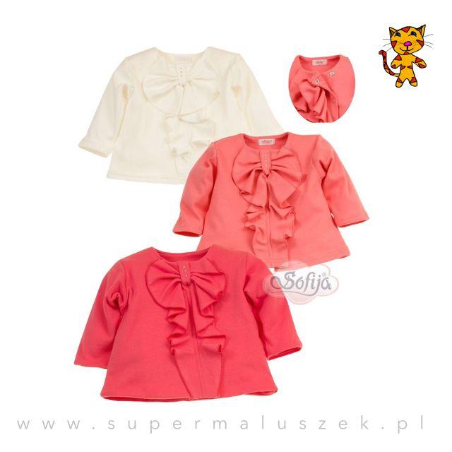 Azalka to bardzo elegancka bluzeczka dla dziewczynek. Wykonana z naturalnej tkaniny zawierającej 100% bawełny.