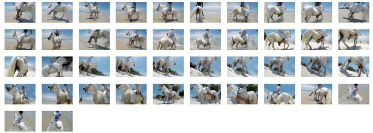 Added today: Leon in Silver Leggings and Pullover Riding Bareback on White Pony, Part 1