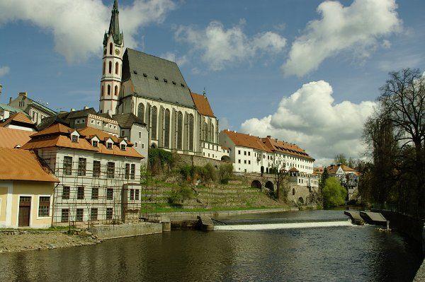 Český Krumlov: Kostel svatého Víta