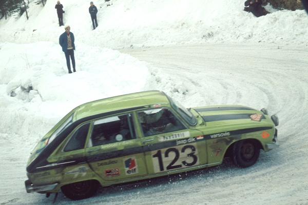 #Renault 16 in the Monte Carlo Race 1971 #cars #automobile