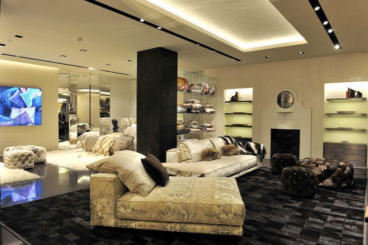 Roberto Cavalli, Montenapoleone, Milan Italy #retail #home