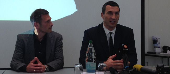 Der mehrfache Box-Weltmeister im Schwergewicht, Wladimir Klitschko, und die…
