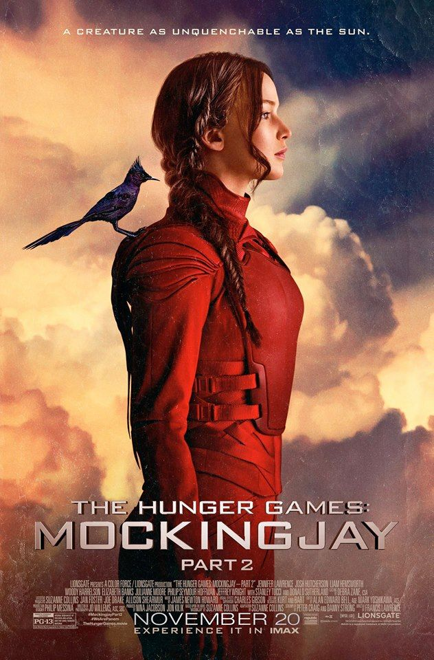 """""""A creature as unquenchable as the sun..."""" // The Hunger Games: Mockingjay - Part 2"""