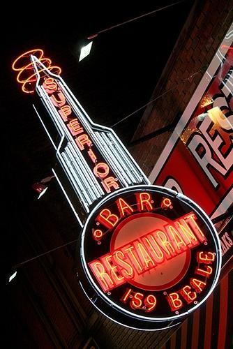 Superior Bar & Restaurant ~ Memphis, TN. 159 Beale St.