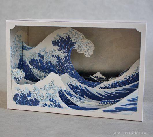 tatebanko - great wave - shop - upon a fold ($1-20) - Svpply