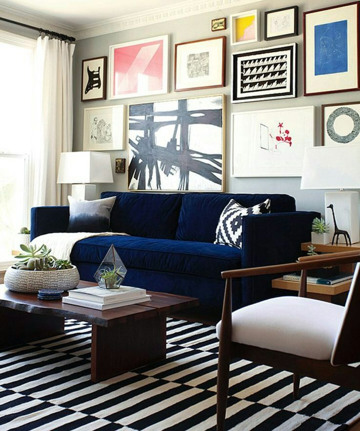 Looove this sofa color!