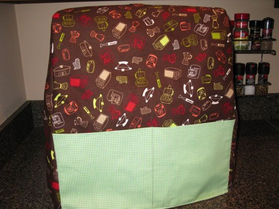 Easy Pdf Sewing Pattern For Kitchenaid Mixer Cover Fits