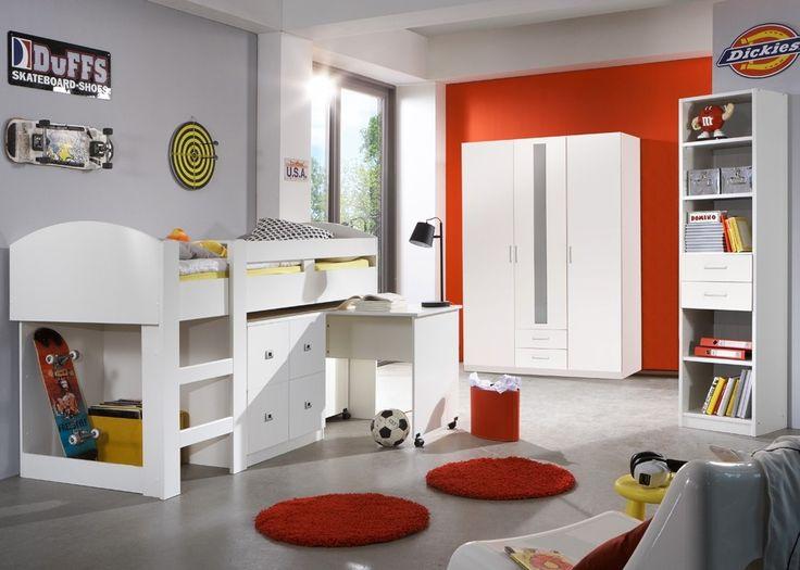 Best Kinderzimmer komplett Lenny Jugendzimmer Alpinwei Mit diesem Kinderzimmer komplett vom Hersteller Wimex treffen Sie eine gute Wahl