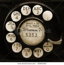 "Dial me up - and the exchange was two letters and a number.  Mine was ""WI"" for Windsor."