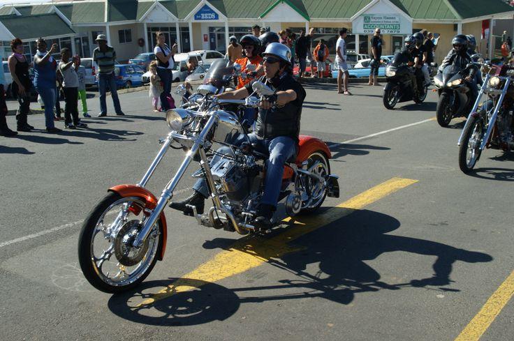 Africa Bike Week Sunday Mass ride view more https://www.facebook.com/EventsVenuesHibiscusCoast