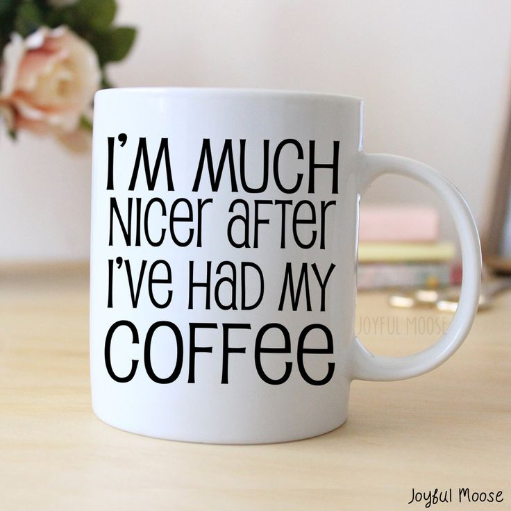 New to JoyfulMoose on Etsy: Funny Coffee Lover Gift - Funny Coffee Mug - Funny Office Gift (14.00 USD)