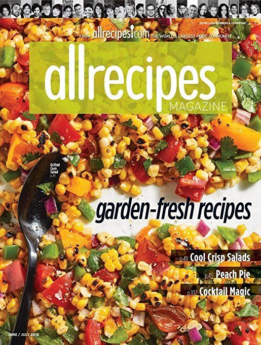 AllRecipes Print Magazine Meredith 4 3 out of 5 stars 322