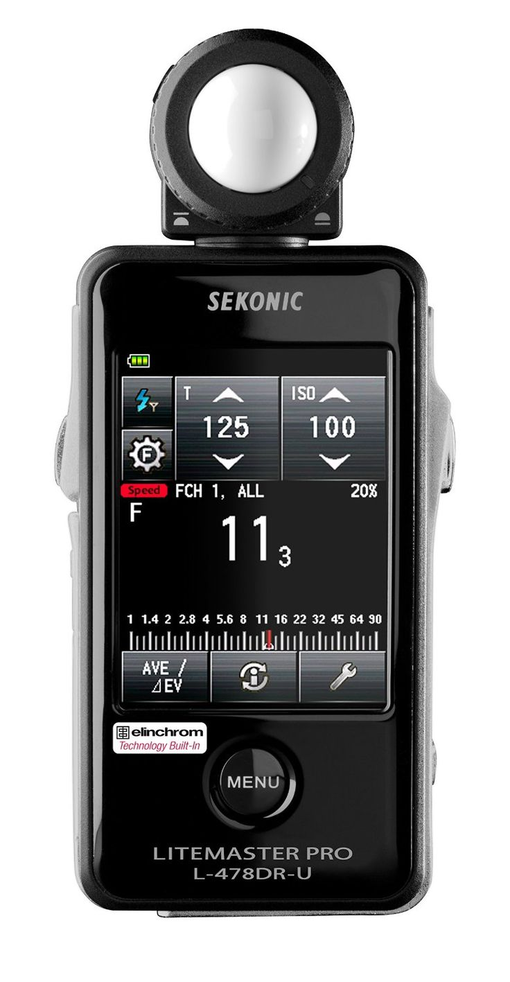 Work With Your Camera Precisely! New Sekonic Lightmeter With Exclusive USA  Radio Frequency And Exclusive Warranty   Cameras, Lens And Accessories For  ...