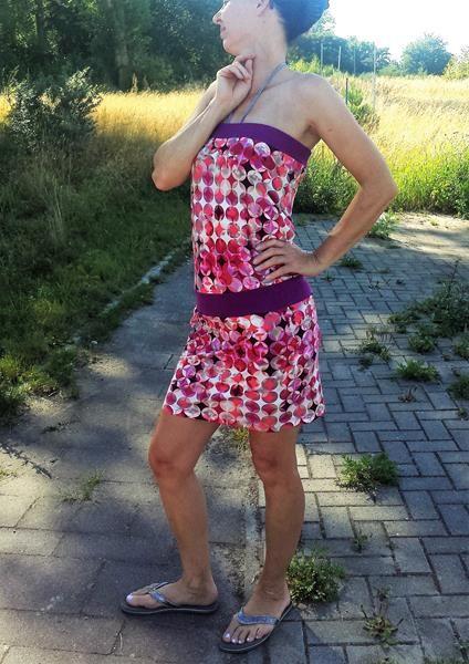 schnelles Sommerkleid nähen