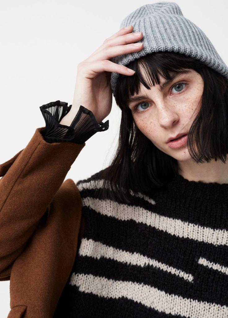 Animal print sweater | MANGO