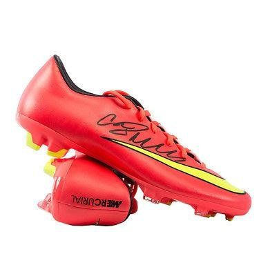 Cristiano Ronaldo Hand Signed Football Boot Nike Mercurial Autographed  Soccer Cleats \u003e\u003e\u003e You can