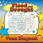 Weather - Flood and Drought Venn Diagram Compare and Contrast Sort  Students will love practicing what you've taught them about floods and droughts...