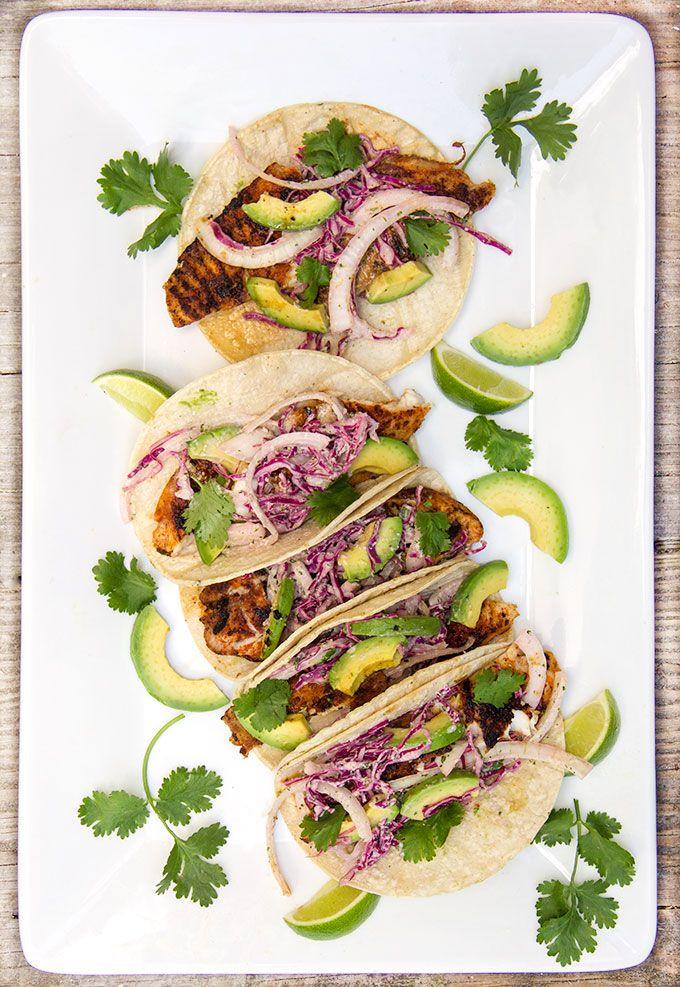 Blackened fish tacos recipe blackened fish tacos for Blackened fish tacos recipe