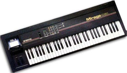 Ensoniq Mirage Sampler (studio's)