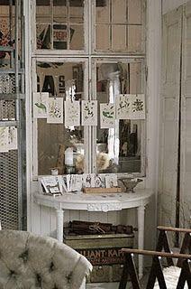 old windows make a beautiful room more beautiful.