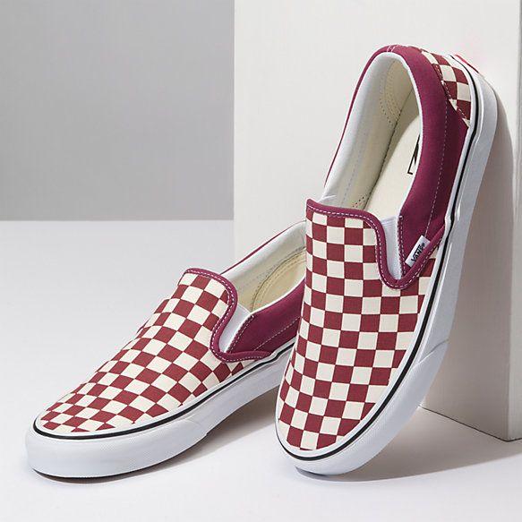 Checkerboard Slip-On | Vans classic