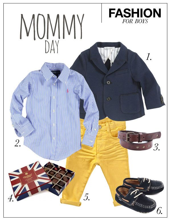 Kids Styling - Fashion for Boys - Mother's Day