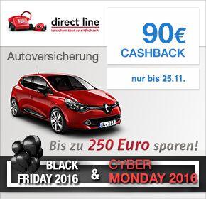 90 EUR Cashback Direct Line