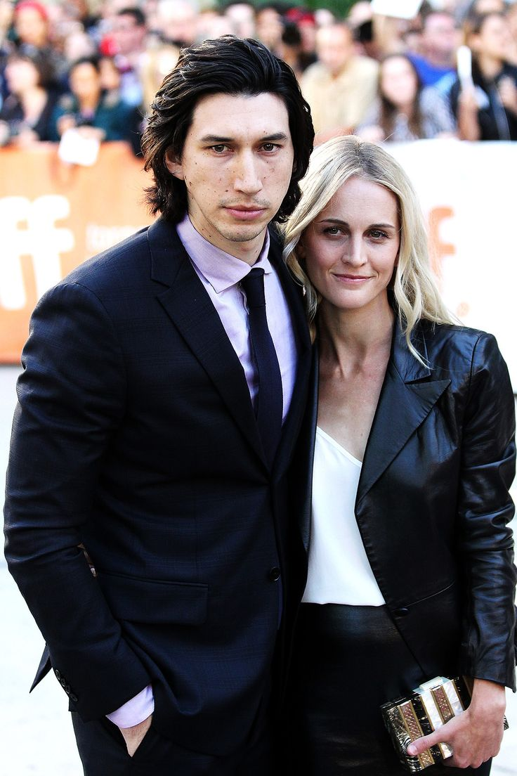 Adam Driver and Joanne Tucker at the 'This Is Where I Leave You' TIFF premiere on September 7th, 2014.