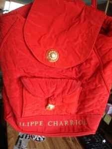 ~vintage philippe charriol backpack~ - $75 (orangecounty)