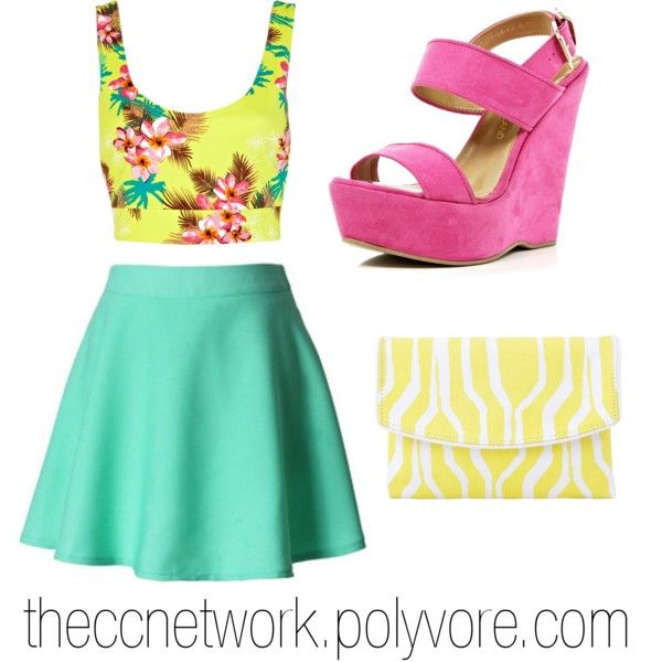 """""""Simple Retro Outfit"""" by theccnetwork on Polyvore"""