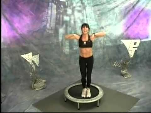 ▶ PT Mini Trampoline Workout with Rosalie Brown - YouTube