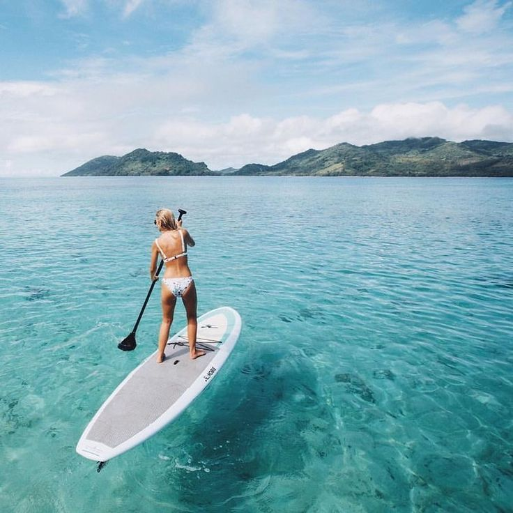 I tried paddleboarding once.. quite frightening. I'll have to try it again.
