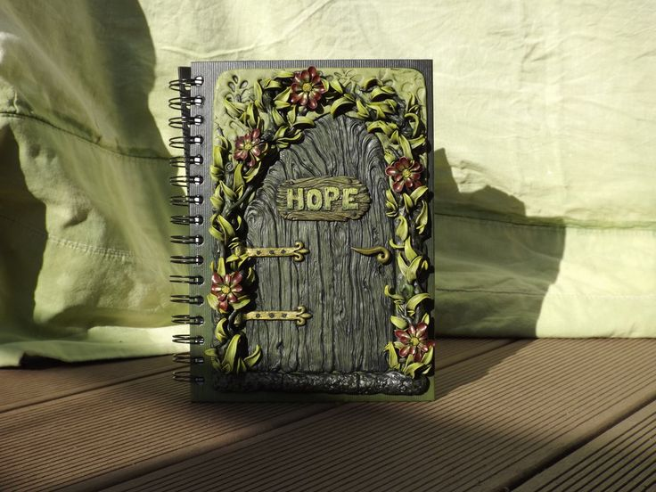 ~Hope~ Journal Cover by SensiArts.deviantart.com on @deviantART