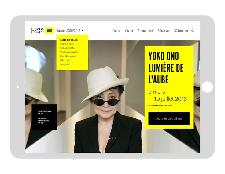 Redesign: MAC (Musée Art Contemporain) Lyon (France) - from @heuryandheury on Ello.