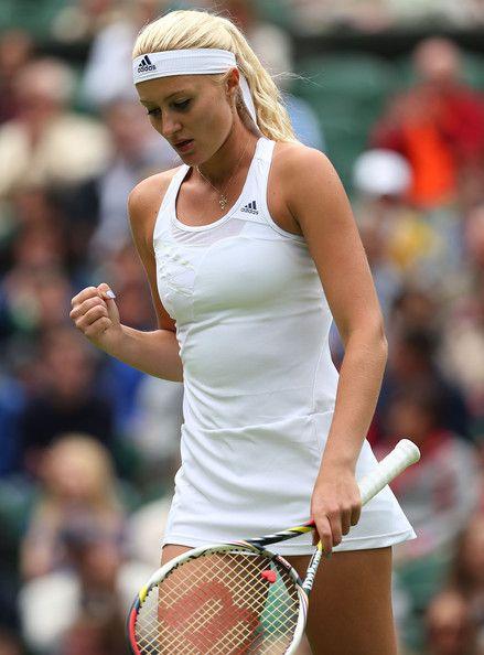 Kristina Mladenovic - General Views of Wimbledon's Opening Day