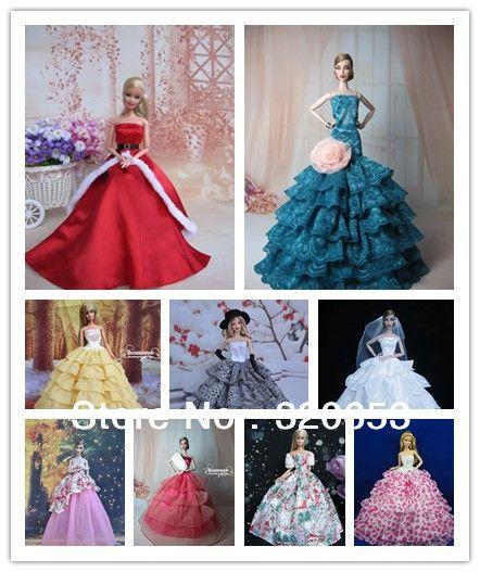 moldes de vestidos de muñecas barbie gratis - Buscar con Google                                                                                                                                                                                 More