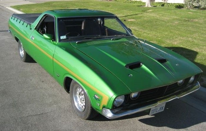 1974 Ford Falcon XB ute