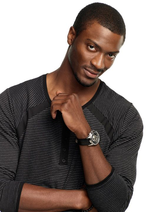 Aldis Hodge playing an uber-geek - one of the best reasons to watch Leverage. Interview at click, more scifi men at http://fancyfembot.com/2011-sci-fi-manfest/