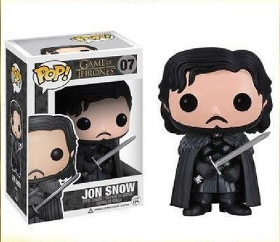 Game of Thrones Doll Jon Snow Funko Pop Action Figure Toy