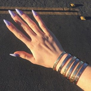 Literally… nail porn. | Community Post: Let's Talk About How Amazing Kylie Jenner's Nail Game Is
