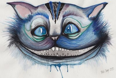 cheshire cat grin - mille dorge