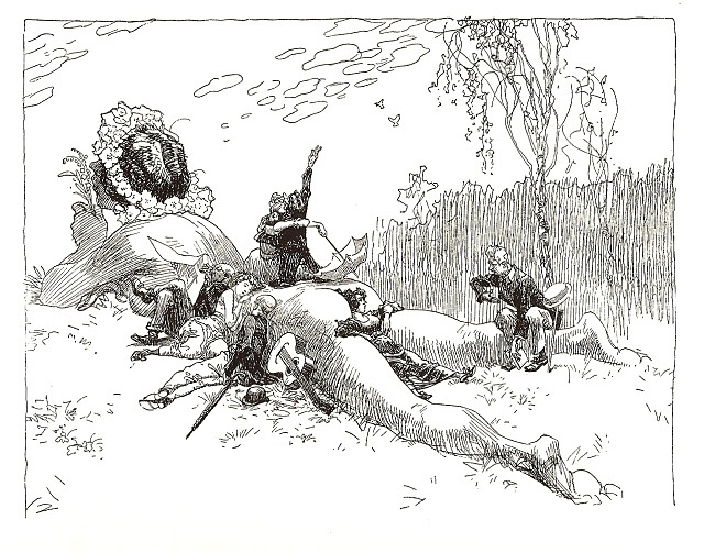 Le repos, Henrich Kley