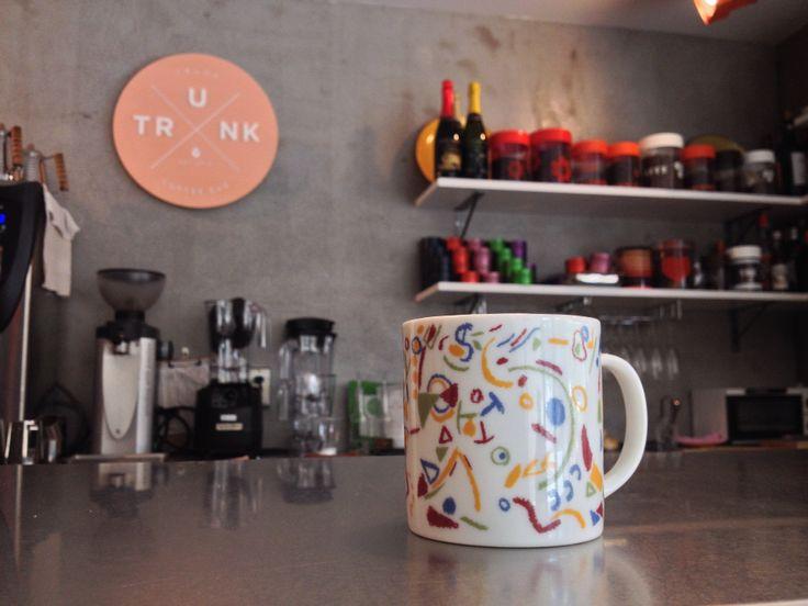 Tisty cup of KODOMONOUTA inTrunk Coffee