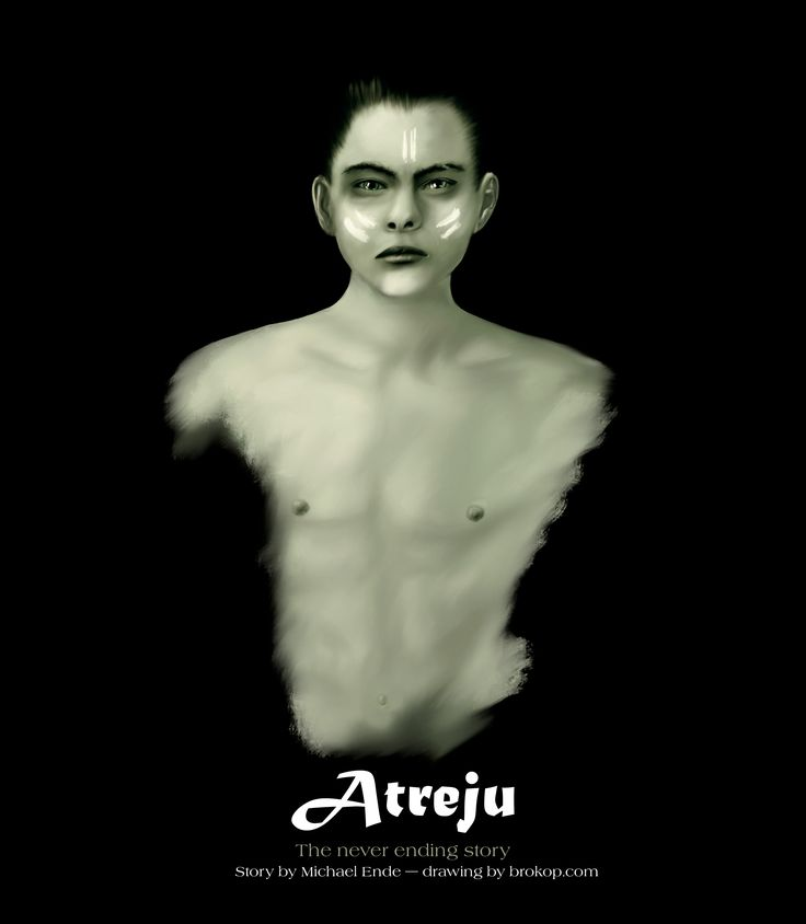 Atreju as I picture him described in Michael Endes wonderfull adventure book; 'The Never Ending Story.'