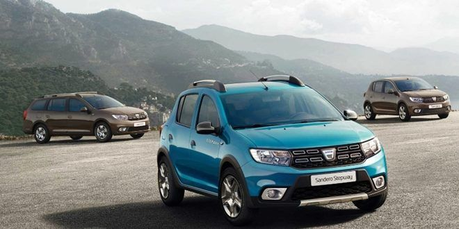 2017 Dacia Sandero, Sandero Stepway, Logan Facelift are Available in the UK