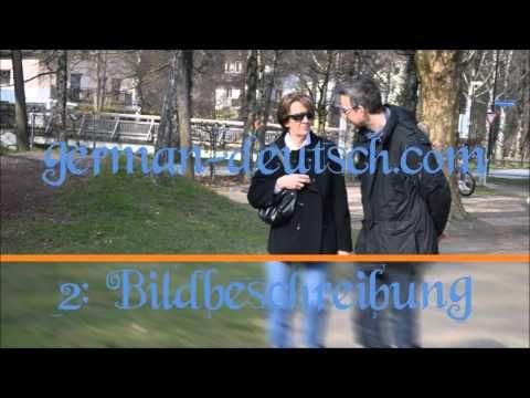 """Deutsch Prüfung. Modul: """"Sprechen"""" A 2, B 1 - Prüfungstraining auf Deutsch! - YouTube"""