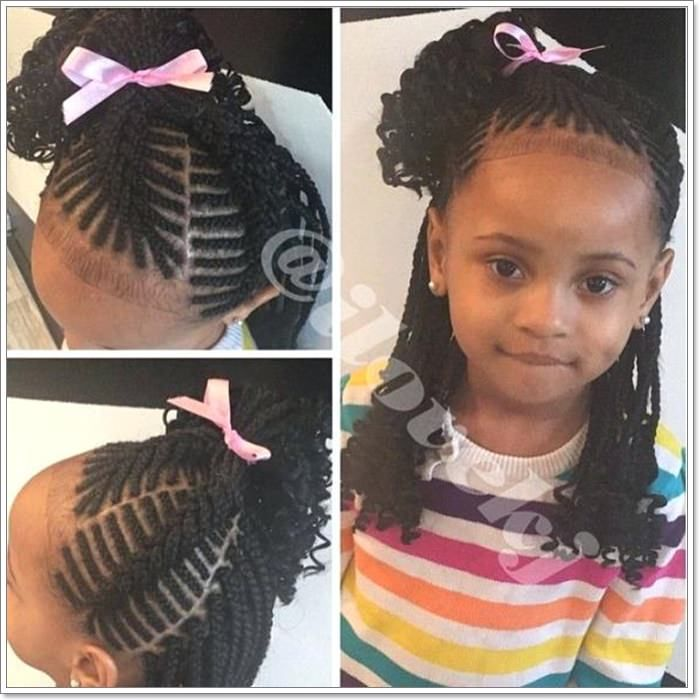 103 Adorable Braid Hairstyles For Kids Black Kids Braids Hairstyles Kids Braided Hairstyles Boy Braids Hairstyles