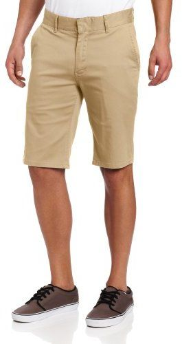 $52, Tan Shorts: Altamont Davis Slim Short. Sold by Amazon.com. Click for more info: https://lookastic.com/men/shop_items/7363/redirect