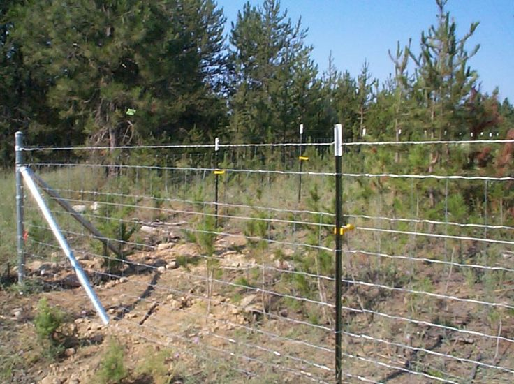 The Best Way to Install Field Fences